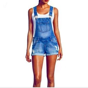 Blue Spice Destroyed Shorts Overall Size 11